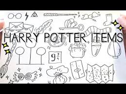 doodle with harry potter item doodles doodle with me