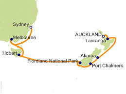 auckland australia map 12 australia and new zealand cruise on princess from