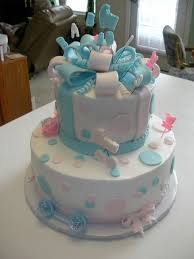 baby shower cake for twins baby shower diy