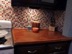 installing tile backsplash in kitchen how to install a kitchen tile backsplash hgtv