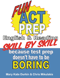 amazon com fun act prep skill by skill english u0026 reading