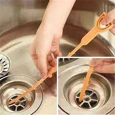 Clogged Sink Orliverhl Kitchen Plastic Drain Clogs Cleaner Sink Plumbing