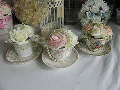 Vintage Flower Table Decorations Vintage Tea Wedding Decor Vintage Table Decorations From Fleur