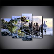 online get cheap bass fishing paintings aliexpress com alibaba
