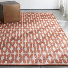 Crate And Barrel Outdoor Rug Crate And Barrel Outdoor Rug Aldo Mandarin Orange Outdoor Rug
