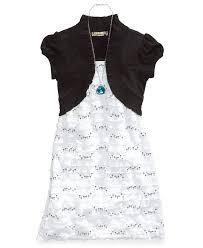 25 size 10 speechless girls necklace u0026 shrug dress set girls