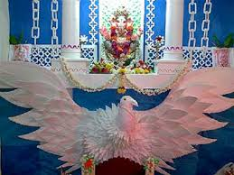 decoration themes for ganesh festival at home home decorating ideas for ganesh chaturthi pictures