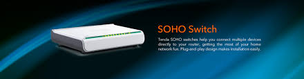 Home Network Design Switch Tenda