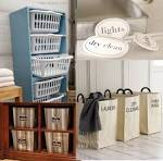 2 Quick Ideas for Easy Laundry Organization