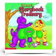 barneys storybook treasury barney friends books