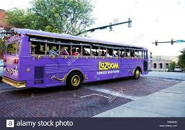 North Carolina travel bus images Lazoom la zoom comedy tour bus in asheville north carolina stock jpg
