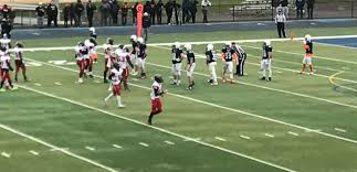 game thanksgiving rahway indians edge johnson crusaders varsity football in