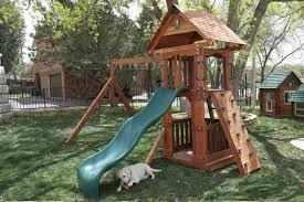 Small Backyard Swing Sets by Wooden Small Yard Swing Set Wooden Play Setswesttexasswingsets Com