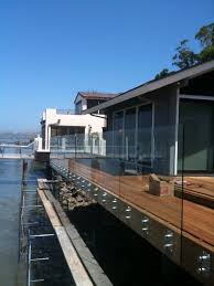 glass deck railing exterior photos glass railing design ideas