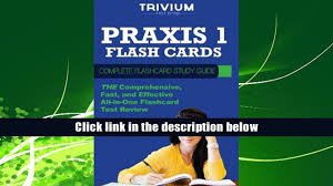 audiobook praxis 1 flash cards complete flash card study guide