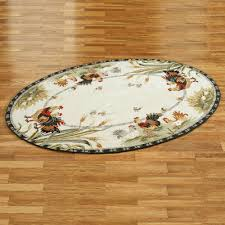 Rooster Area Rug Rooster And Hens Round Rugs
