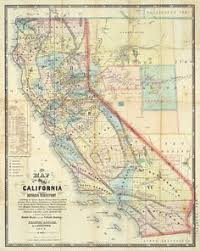 california map framed antique map of southern california search map it