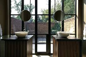How To Hang Bathroom Mirror Hanging Mirror In Bathroom Akapello