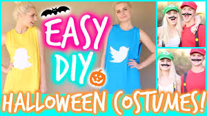 easy u0026 funny diy halloween costumes aspyn ovard youtube