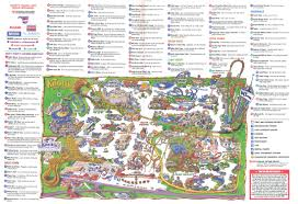 Orlando Parks Map by Theme Park Brochures Knott U0027s Berry Farm Theme Park Brochures