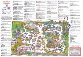 Universal Studios Orlando Park Map by Theme Park Brochures Knott U0027s Berry Farm Theme Park Brochures