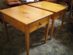 golden oak end tables here s a large hall tree i made out of the style s of them same 100