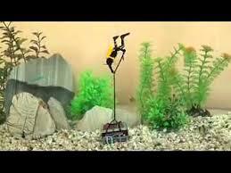aquarium air operated decoration 0 65 treasure diver
