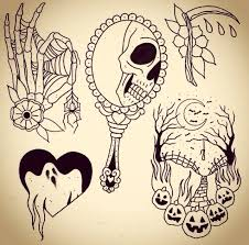 halloween tattoo designs flash 29 best halloween tattoo designs