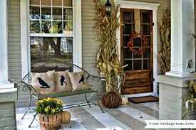 Decorating Ideas For Older Homes Antique Homes And Lifestyle Fall Porch Decorating Ideas