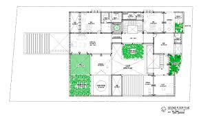 home blueprint design home architecture plan house plans with indoor garden blueprint