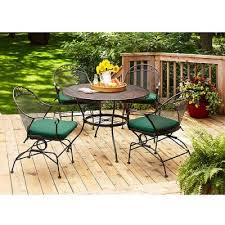 Best Rated Patio Furniture Covers by Bar Furniture Wrought Iron Patio Shop Davenport Black Wrought