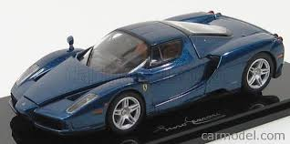 blue enzo kyosho 05001bl scale 1 43 enzo 2002 with openings tour