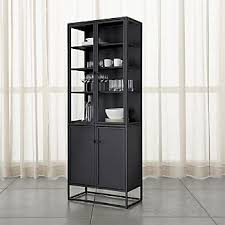 rooms to go curio cabinets display cabinets crate and barrel