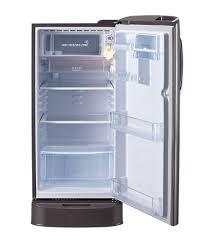lg direct cool single door refrigerator interior gadgets shiksha