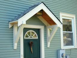 Awning Over Front Door Front Porch Overhang Cost Door Awning Kits Plans Printable