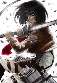 mikasa ackerman by juliet the ninja on deviantart