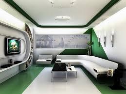 futuristic room home design