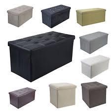 storage ottomans ebay