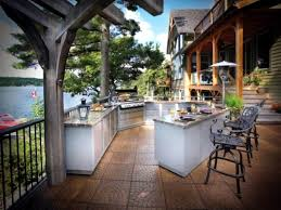 trendy outdoor kitchen set up in the garden ideas for outdoor use
