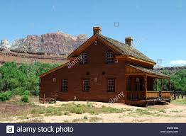 abandoned house ghost town grafton near zion national park utah
