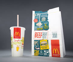mcdonald u0027s new take out bags are completely unrecognizable