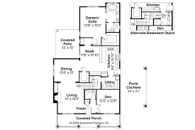 Floor Plans For Bungalow Houses Bungalow House Plans Markham 30 575 Associated Designs