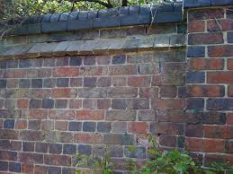 english bond garden wall with brick capping stephen scaysbrook