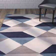 Geometric Area Rug by Rug U0026 Carpet Tile Blue Geometric Pattern Rug Rug And Carpet