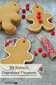 easy gingerbread ornaments my recipe confessions