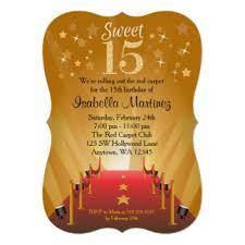 sweet 15 invitations u0026 announcements zazzle