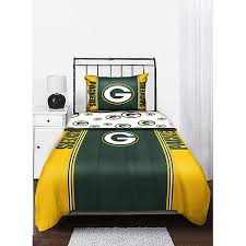 Green Bay Packers Bedding Set Nfl Packers Bedding Set M S Wish List Pinterest Packers Bed