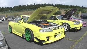 custom nissan 240sx s14 drift team two yellow s14 silvia u0027s nissan 240sx youtube