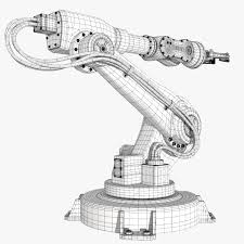 fbx industrial robot modeled robots pinterest industrial