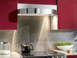 kitchen backsplash panel kitchen backsplash chrome contemporary textured metal stainless